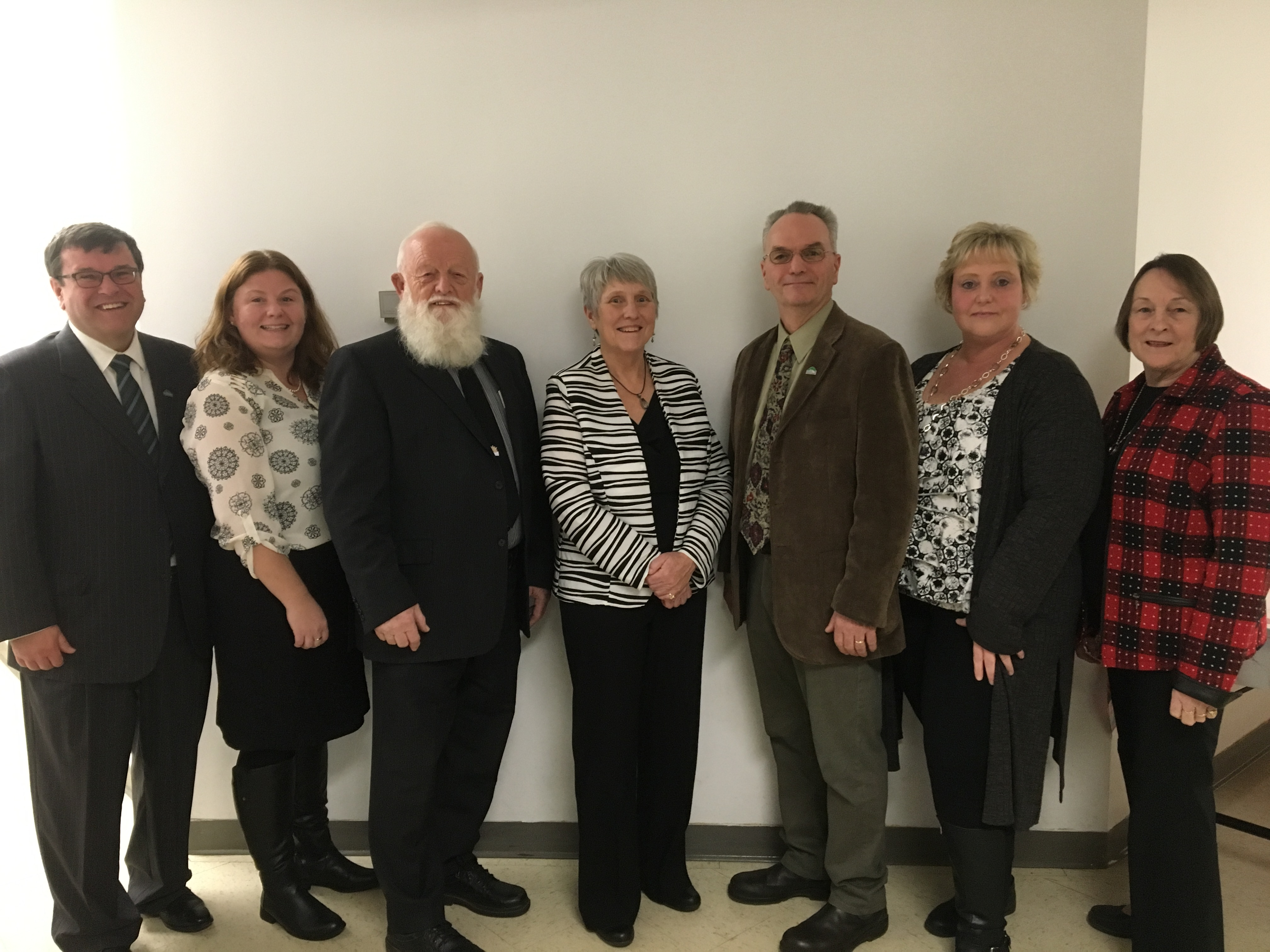 members of Minden Hills Council for the 2018 to 2022 term